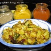 Spicy Tangy Stir Fry Potato