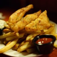 Enjoy your favourite fish & chips at Koshy's Bangalore