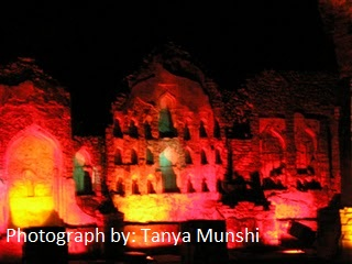 light and sound show at golconda fort4 (1)
