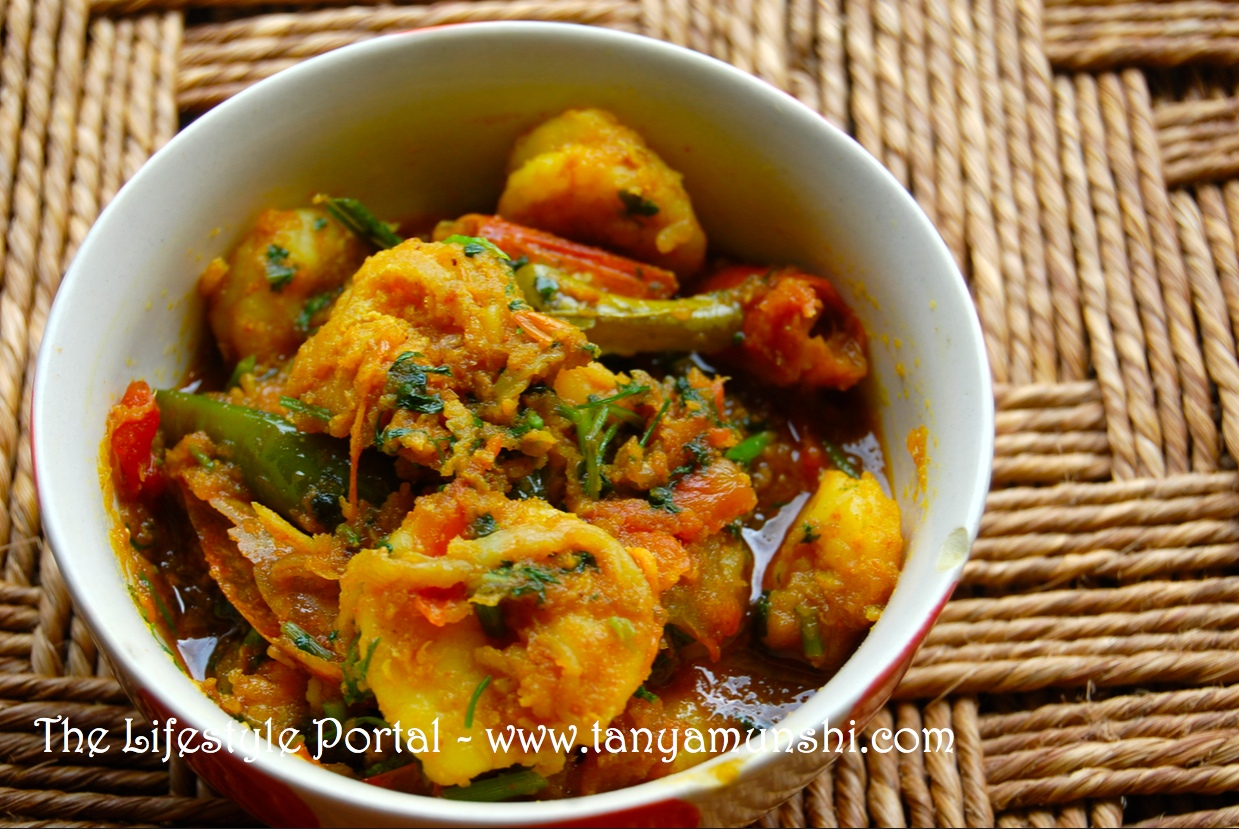 Homemade simple prawn recipe