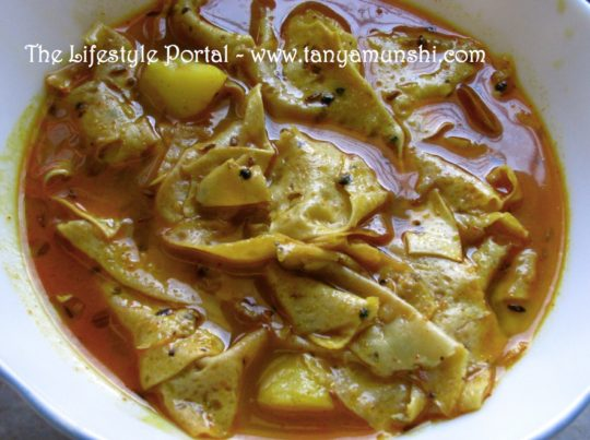 How to make Papad Curry