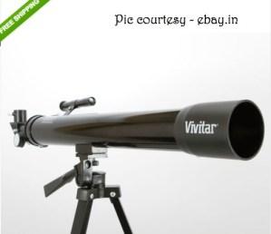Vivitar 75X/150X Refractor Telescope (VIV-TEL-150X) at ebay.in