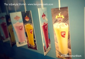 New summer drinks @ Cafe Coffee Day