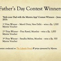 Father's Day Contest Winners