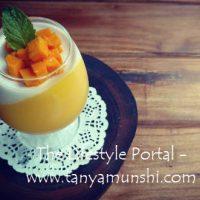 Don't miss this - Mango Coconut Pannacota.