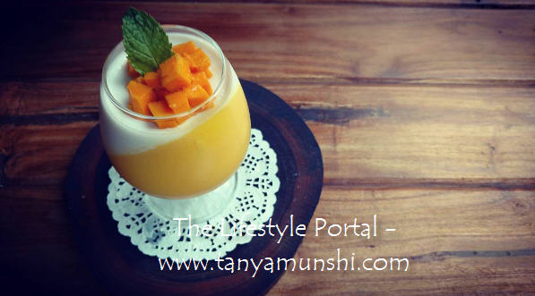 Don't miss this - Mango Coconut Pannacota.