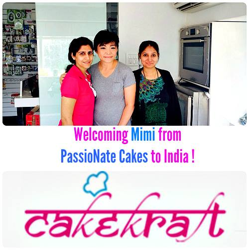 """Moving and Musical Cakes"" Workshop at CakeKraft India"