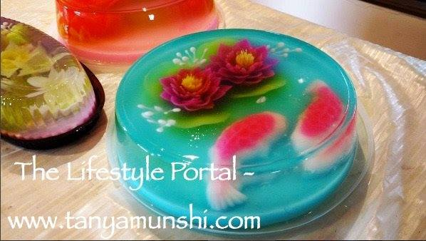 The Gorgeous Jelly Art Cake