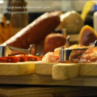 Enjoy a fine variety of cold cuts, cheeses and breads at Euro