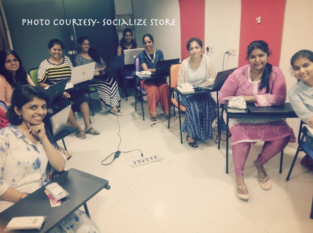 Fun workshops conducted by Socialize Store