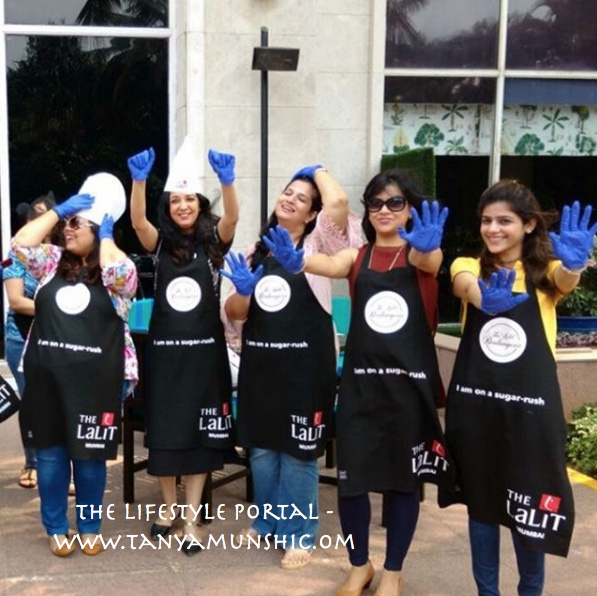 Ready with our aprons & gloves...