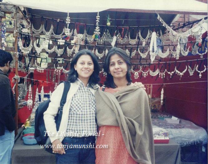 Childhood friends - Ramdeep & I always make it a point to meet at Dilli Haat