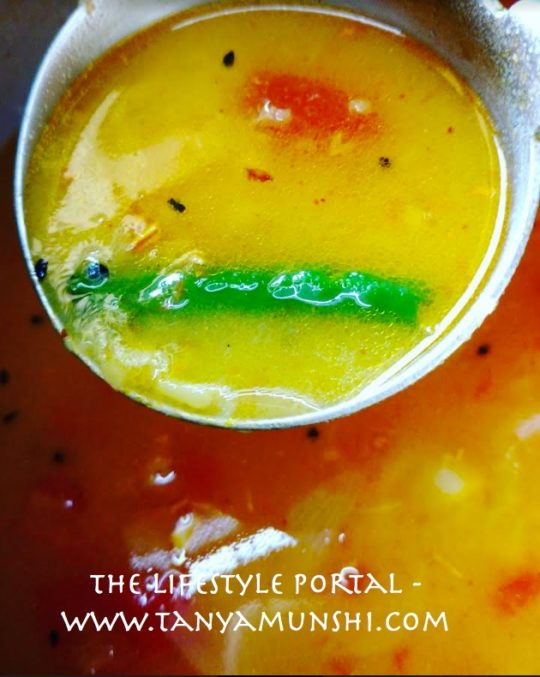 The simple aroma of freshly prepared daal, evokes feelings of warmth and comfort.