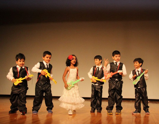 Display of talent. Photo courtesy: Oi Playschool