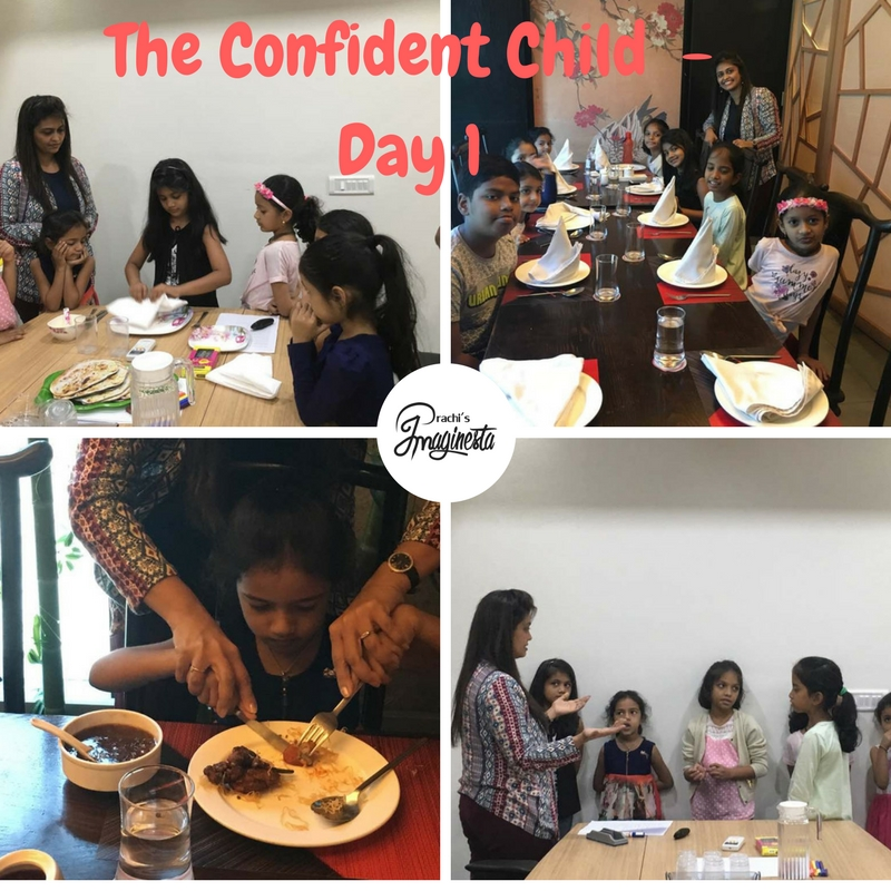 Teaching kids about fine dining and table manners