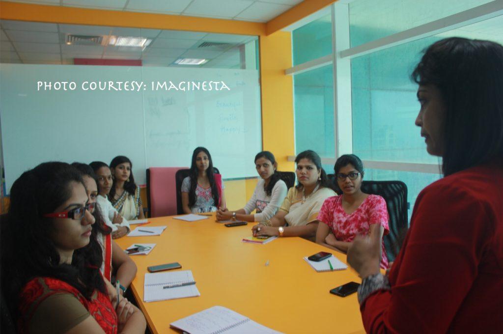 Corporate workshop in progress by Imaginesta