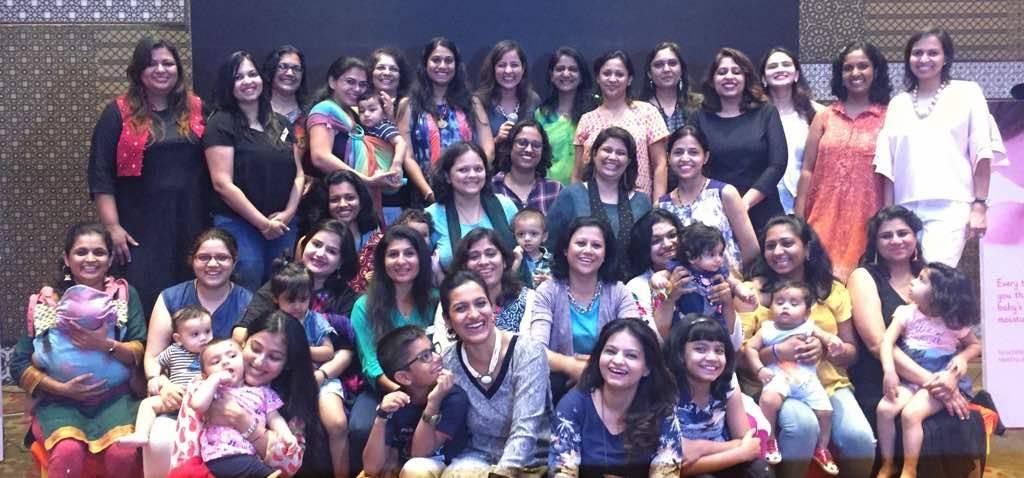Pune Moms at the Johnson & Johnson & BabyChakra Meetup