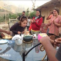 Shagun celebrating her birthday in Geeli Mitti