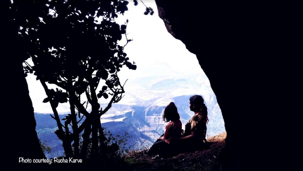 In one with nature - Rucha & Advika