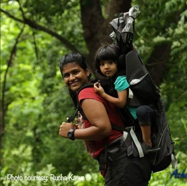 Backpacking the mommy way!