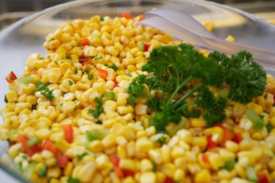 Corn Groundnut Salad