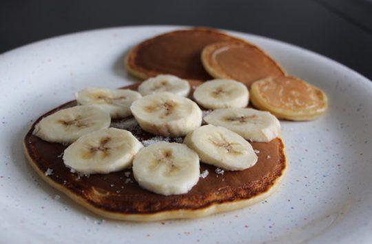 Healthy Breakfast Recipe - Banana Oat Pancake