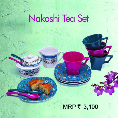 Ektra Fine Dining - Nakashi Tea Set