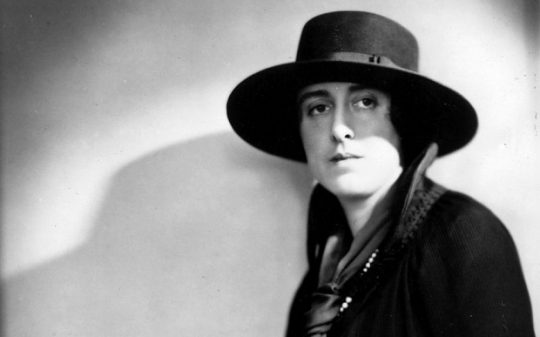 Vita Sackville-West...circa 1940: Vita Sackville West (Victoria Mary Nicolson, 1892-1962), an English novelist who was the model for Virginia Woolf's 'Orlando'. She married the diplomat Harold Nicolson in 1913. (Photo by Lenare/Hulton Archive/Getty Images) - Photo Courtesy: The Telegraph UK