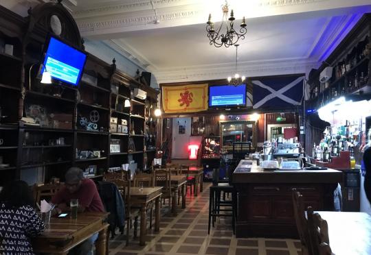 The Clachan Lounge. Photo courtesy: Meghna Golder