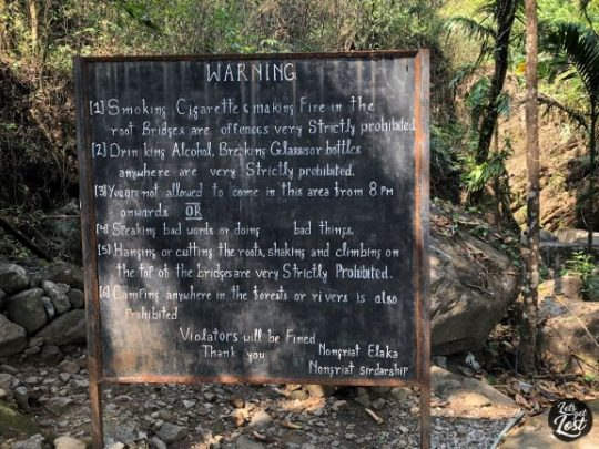 Set of rules at Root Bridge - a high civic sense among the Khasis