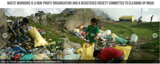 Photo courtesy: Waste Warriors