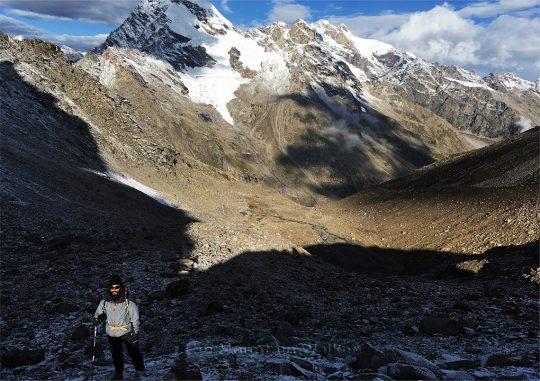 ShaikhSpear in Himachal, the storyteller himself - Ameen Shaikh. Photo credit: Abhishek Kaushal