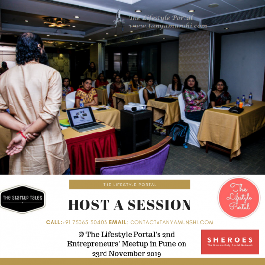 Host a session at our next meetup in Pune.