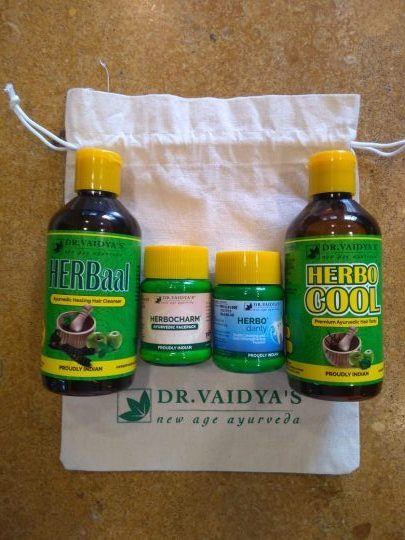 Exclusive Dr Vaidya's Gift Hamper for The Lifestyle Portal