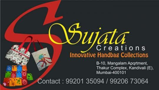 Sujata Creations Innovative Handbag Creations.