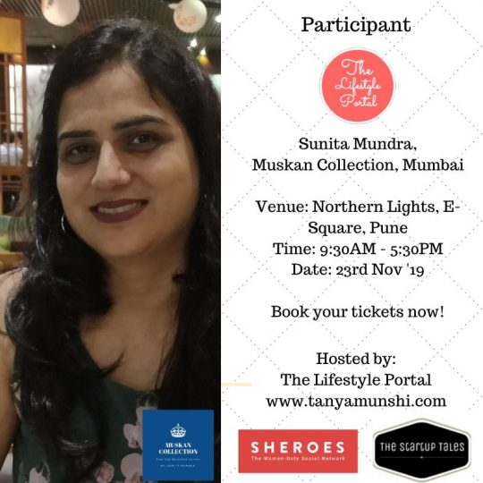 Sunita Mundra, Founder, Muskan Collection