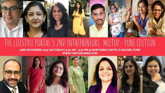 The Lifestyle Portal's 2nd Entrepreneurs' Meetup - Pune Edition