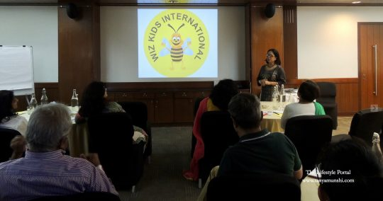 Chanda Rajat Sahu, Principal.& Founder, Wiz Kids International
