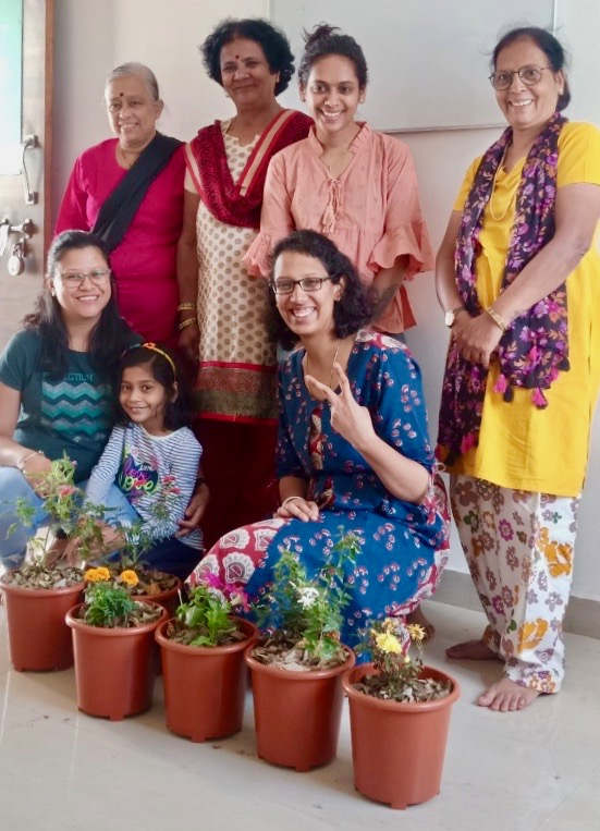 It's all begins with one little plant to make the world a greener place. Photo courtesy: Reema's Garden.