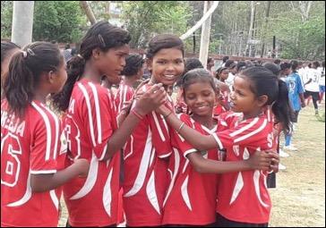 Embracing victory over adversaries. Photo credit: Shreeja India