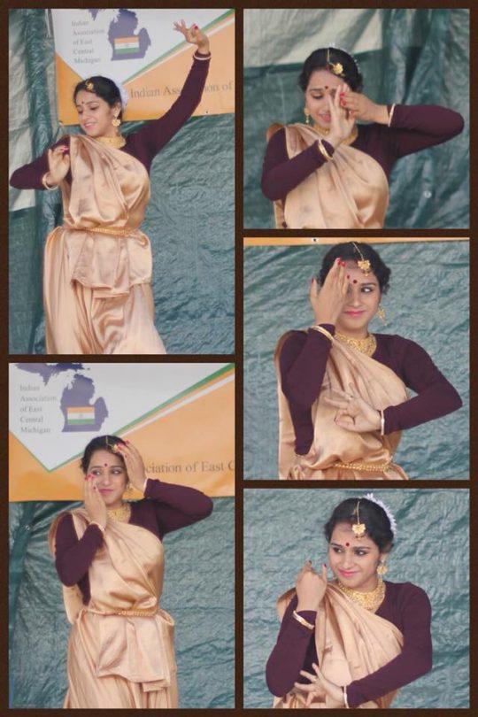 Upasana doing what she does best - dance! Photo courtesy: Upasana M Pal