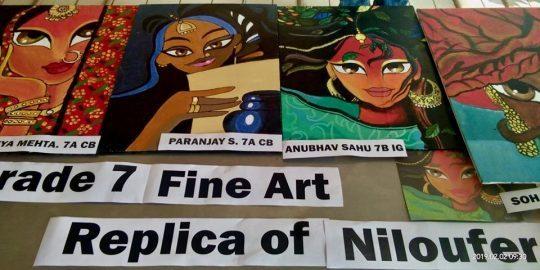 Prize winning artwork by Anubhav Sahu